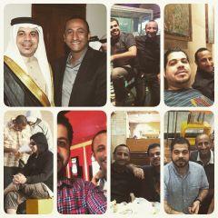 فهد مندي مع المرحوم المخرج محمد جاسم شويطر